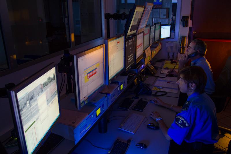 Elete Guard - Servizi di vigilanza e sorveglianza ad Ovada Alessandria - sala operativa